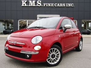 2014 Fiat 500C Lounge| CONVERTABLE| CLEAN CAPROOF