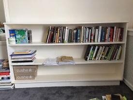 Big Solid Wooden Bookcase