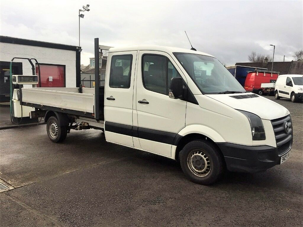 08 Volkswagen Crafter CR35 LWB Double Cab Pick