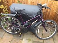 """Ladies 18"""" Giant bike bicycle. FREE lights & mudguards. Delivery & D lock available"""