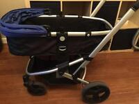 Mamas and papas 2in1 (pram and stroller) plus FREE footmuff and rain cover