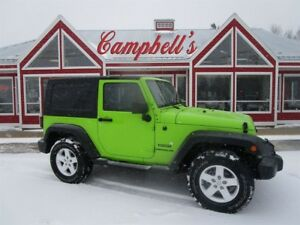 2013 Jeep Wrangler Sport RARE AUTOMATIC AIR CRUISE HARD TOP