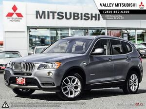 2013 BMW X3 xDrive28i - Leather Heated Seats, Sunroof, Backup