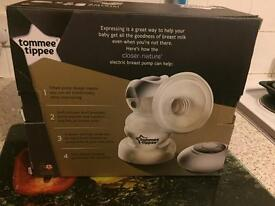 Tommie tippee manual breast pump & Tommie tippee electric breast pump