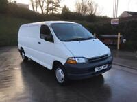 **TOYOTA HIACE LONG WHEEL BASE POWER-VAN 2.5 DIESEL WHITE IN IMMACULATE CONDITION**