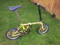 Neobike fold up bike Brompton