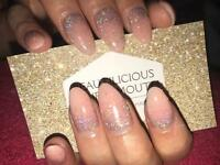 Acrylic Nails Shellac OPI Gel