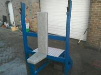 Olympic shoulder press bench