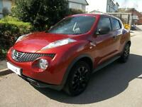 Nissan Juke 1.6 DiG-T Kuro 5dr (force red) 2012