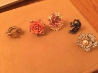 Assorted Fashion Rings