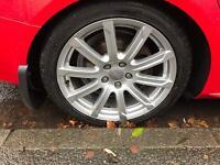 "18"" Genuine Audi Alloy wheels"