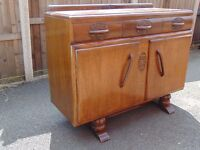 Art deco medium oak sideboard