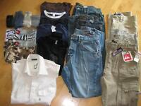 Bel ensemble de vêtements de marques pour jeune homme ou ados