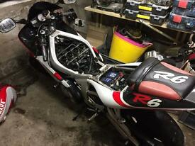 WANTED - YAMAHA R6 NONRUNNERS OR CRASHED ETC.