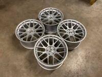 19″ Inch STROM STR2 RC Alloy Wheels BMW E90 E91 E92 E93 F10 F11 F30 F31 F33 M3 4 5 Series 5X120
