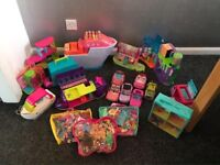 POLLY POCKET BUNDLE.