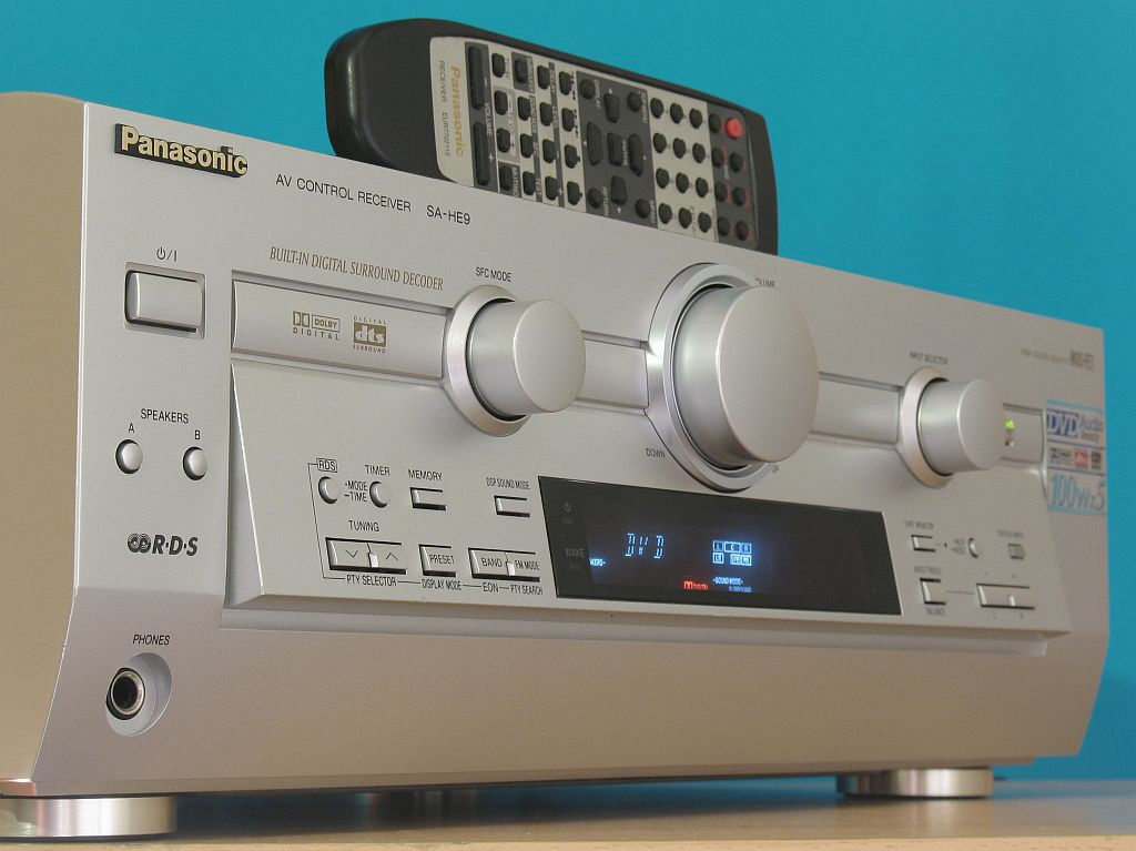 Panasonic SA-HE9 - AV receiver - 5.1 channel