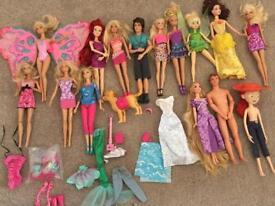 15 Barbie Dolls