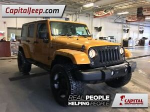 2014 Jeep WRANGLER UNLIMITED Sahara| Cloth| 4X4| Remote Start