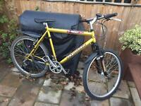 """Men's 21"""" Frenzy bicycle. Inc Front suspension & lights. Delivery & D lock available"""