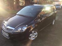 2010 VAUXHALL ZAFIRA EXCLUSIVE 1.9 CDTI AUTOMATIC FULL MOT IN BLACK PX WELCOME