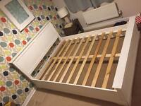 King size bed frame - Wood