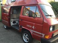 Volkswagen t25 t3 campervan camper 1987