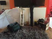 Nikon D90 18-55 VR kit and lots of accessories