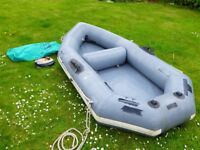 Avon Redcrest inflatable dinghy.