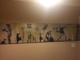 Banksy artwork print picture