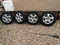 """Tyres with wheels 16"""""""