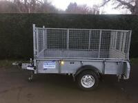 Ifor Williams gd84 caged sided trailer