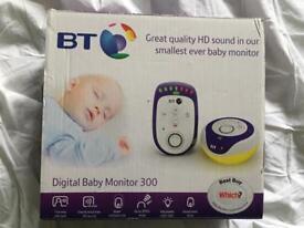 BT Baby Monitor 300 HD Sound