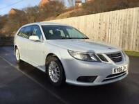 2008 SAAB 9-3 LINEAR SE 1.9 TID ESTATE *FULL SERVICE HISTORY*not toyota avesis passat vectra a4 320