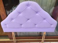 Purple Headboard for Single Bed