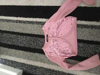 Pink cardi age 5