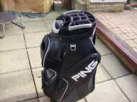 ping 15 way full way divider golf trolley bag
