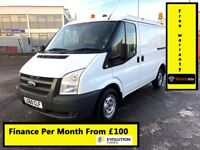 Ford Transit 2.2 300, One Owner - Direct From BT, 98K Miles ,Full Service History, 1YR MOT, Warranty