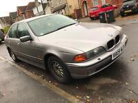 BMW 528i, MOT + Tax