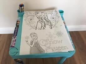 Frozen art table