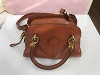 Tods brown leather handbag - brand new with dustbag