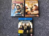 Hangover 1,2 & 3