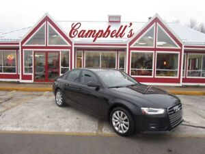 2014 Audi A4 2.0 AWD SUNROOF HTD LTHR CLIMATE CONTROL!!