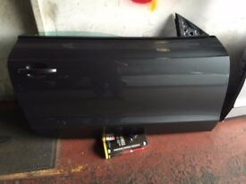 AUDI A5 COUPE DRIVER SIDE FRONT DOOR 2011-2015