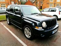 JEEP Patriot 2008, 2.0 CDR Limited, Full leather Power steering MOT Jan 2019