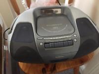 Panasonic DX-29 portable stereo with MP3