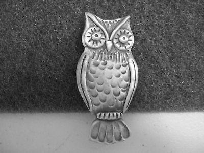 Night Bird JEWELRY 1 OWL Pewter Pin All NEW.