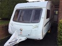 Swift Challenger 480 (2007) 2 Berth Caravan with PowrTouch Classic Motor Mover