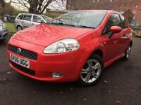 06 Fiat punto grande - 11 months mot - 3 Door petrol - sports - Warranted 67K on clock