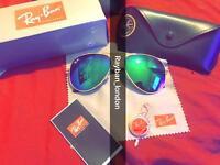 Rayban aviator wayfarer men's women's sunglasses sun sea holiday beach new free local delivery